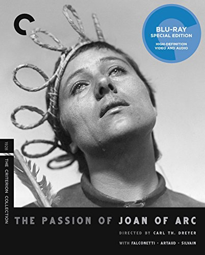 Blu-ray : The Passion Of Joan Of Arc (criterion Collection) (Full Frame, Black & White, Subtitled)