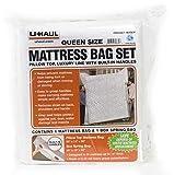 Uhaul Queen Mattress Bag Set with Built-in Handles