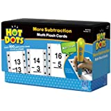 Educational Insights Hot Dots Math Flash Cards- More Subtraction