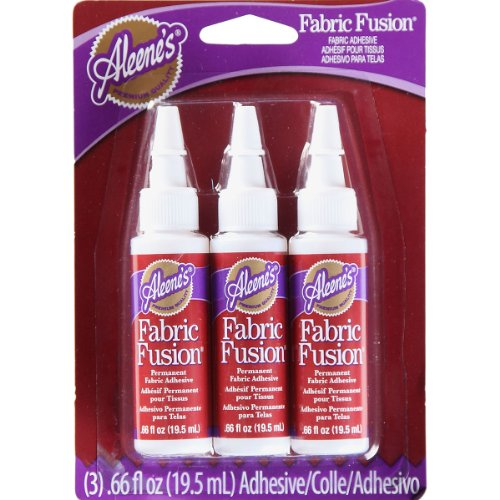 Price comparison product image Aleene's Fabric Fusion Glue, 3-Pack