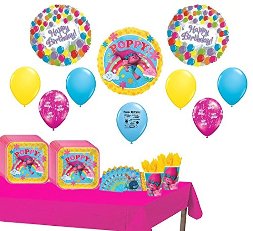 Trolls Party Supply Pack for 16 Guest