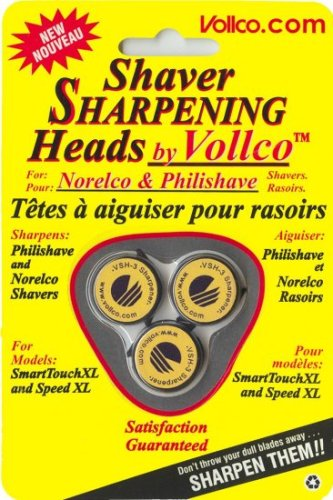 Cheap Vollco Sharpening Heads for Norelco Smart Touch and Speed-XL Models using HQ9 heads