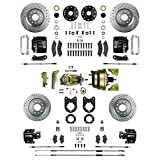 The Right Stuff AFXDC51CS Power Disc Conversion (4 Wheel Signature Big Brake Black Calipers)