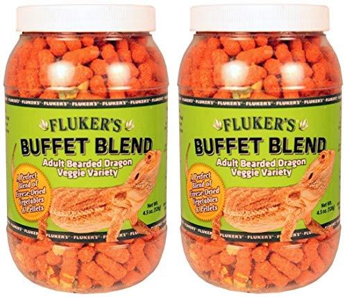 Flukers Adult Bearded Dragon Veggie Variety Diet, 4.5 Ounce