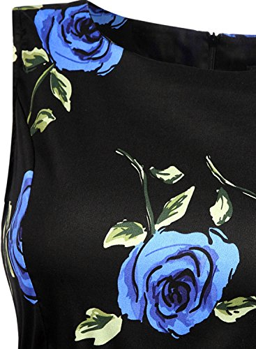 Futurino - Vestido - para mujer Rosa Azul