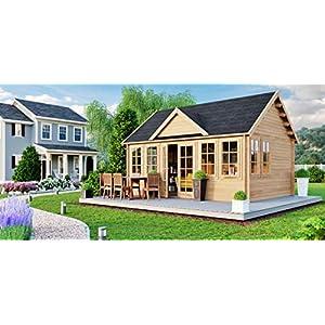 Best Epic Trends 51ibUci8NcL._SS300_ Allwood Claudia | 209 SQF Cabin Kit, Garden House