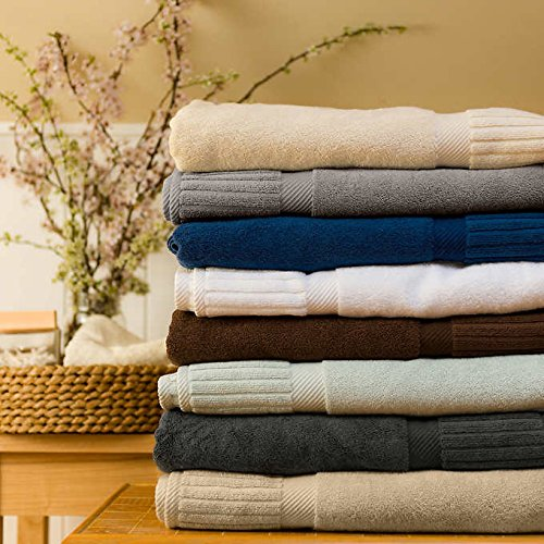 Turkish Towel Optimum 700gsm 2-pc. Bath Sheet Set / Blue Ice
