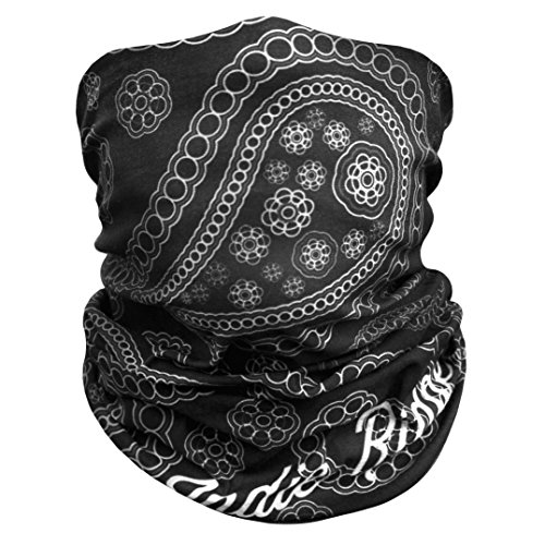 Price comparison product image Paisley Outdoor Face Mask By IndieRidge - Microfiber Polyester Multifunctional Seamless Headwear for Motorcycle Hiking Cycling Ski Snowboard