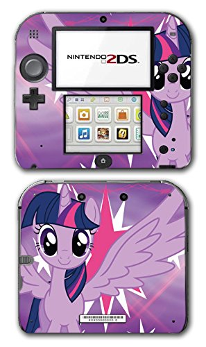 My Little Pony Friendship is Magic MLP Twilight Sparkle Video Game Vinyl Decal Skin Sticker Cover for Nintendo 2DS System Console (My Little Pony Xbox)