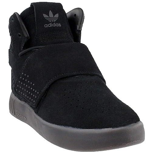 pretty nice 16128 88299 Adidas Kid's Originals Tubular Invader Strap CORE Black ...