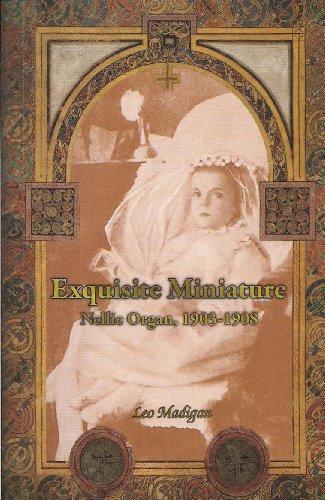 God Organ - Exquisite Miniature. Nellie Organ 1903 -1908.