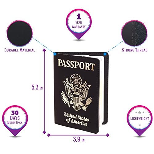 Passport Holder - Passport Cover - Passport Wallet Case