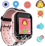 Kids Smart Watch Waterproof Phone - smartwatches Phone Digital Wrist Watch SOS Alarm Clock Camera...