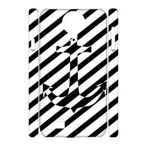 Sailor Anchor Custom 3D Cover Case for SamSung Galaxy S4 I9500,diy phone case ygtg575314