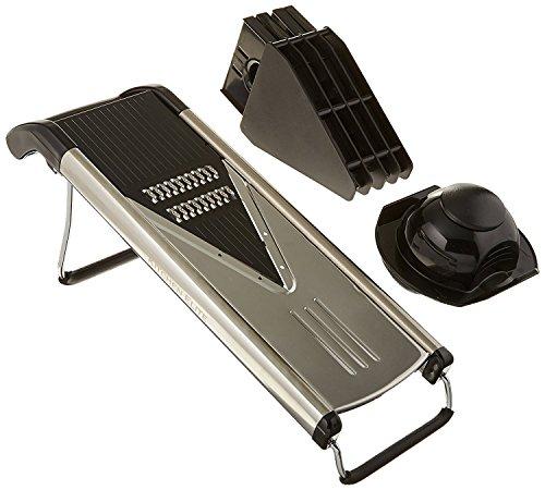 - MEKBOK Blade Mandoline Slicer - Deluxe Heavy Duty Stainless Steel