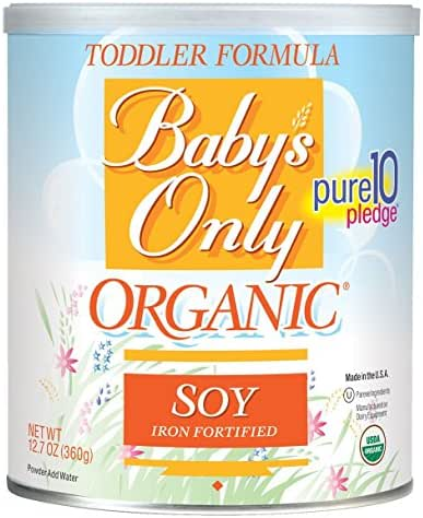 Baby Formula: Baby's Only Soy Formula