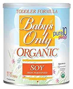 Amazon Com Baby S Only Organic Toddler Formula Og2 Soy