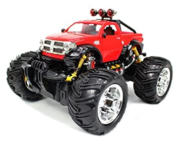 Buy Dodge Ram Monster Truck Rc Remote Control Car Online At