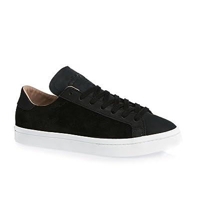 pretty nice b0958 bbfbf adidas Originals Court Vantage Men Trainers Black S78768, Size 45 1 3