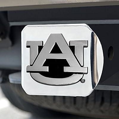 FANMATS NCAA Auburn University Tigers Chrome Hitch Cover: Automotive