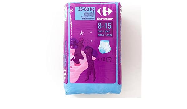 Carrefour 8 - 15 años pantalones de la noche 12 PER PACK Case Of 4: Amazon.es: Bebé