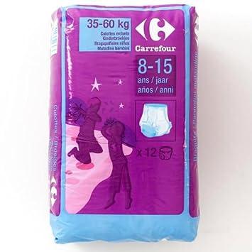 Carrefour 8 - 15 años 12 pantalones de la noche: Amazon.es: Bebé