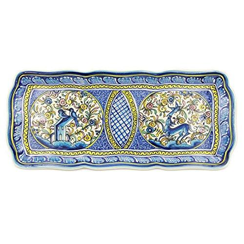 Madeira House Coimbra Ceramics Hand-painted Decorative Platter XVII Century Recreation #251-1700