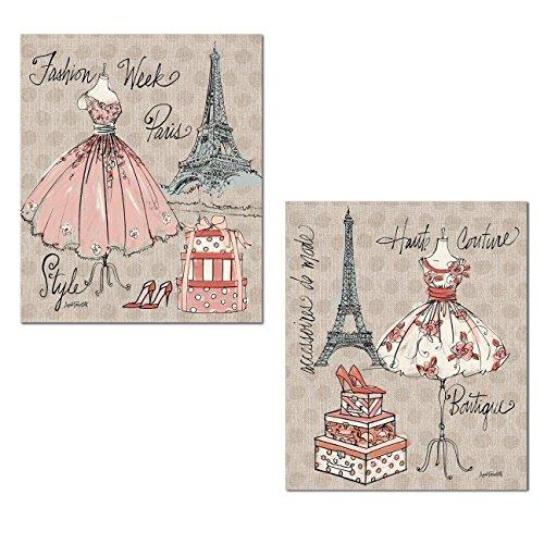 Trendy Boutique Paris Fashion Week Eiffel Tower Set by Anne