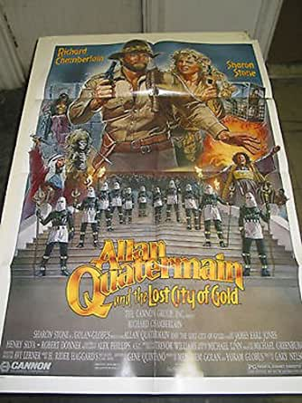 ALAN QUATERMAIN AND THE LOST CITY OF GOLD / ORIG. U.S. ONE