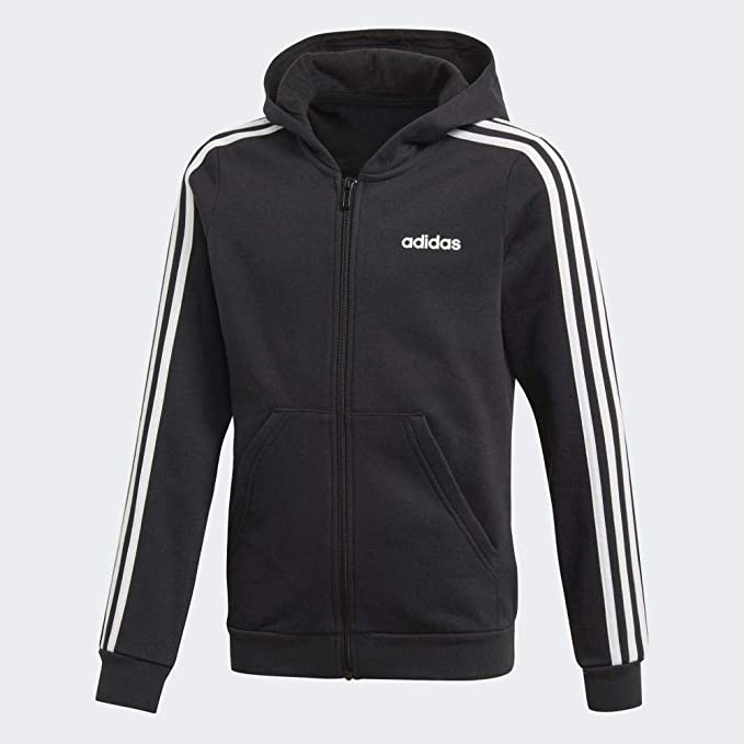 Adidas Damen Essentials 3 Streifen Full Zip Hoodie