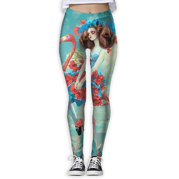 Yoga Pants,Workout Leggings,Yoga Power Flex Dry-Fit Pants ...