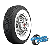 165/80R15 All Season Tires - Coker Classic 2 1/4 Inch Whitewall 165R15