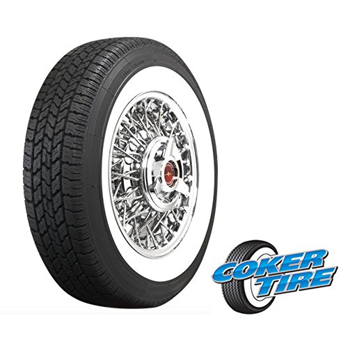 Coker Classic 2 1/4 Inch Whitewall 165R15 (Best Tires For Vw Beetle)