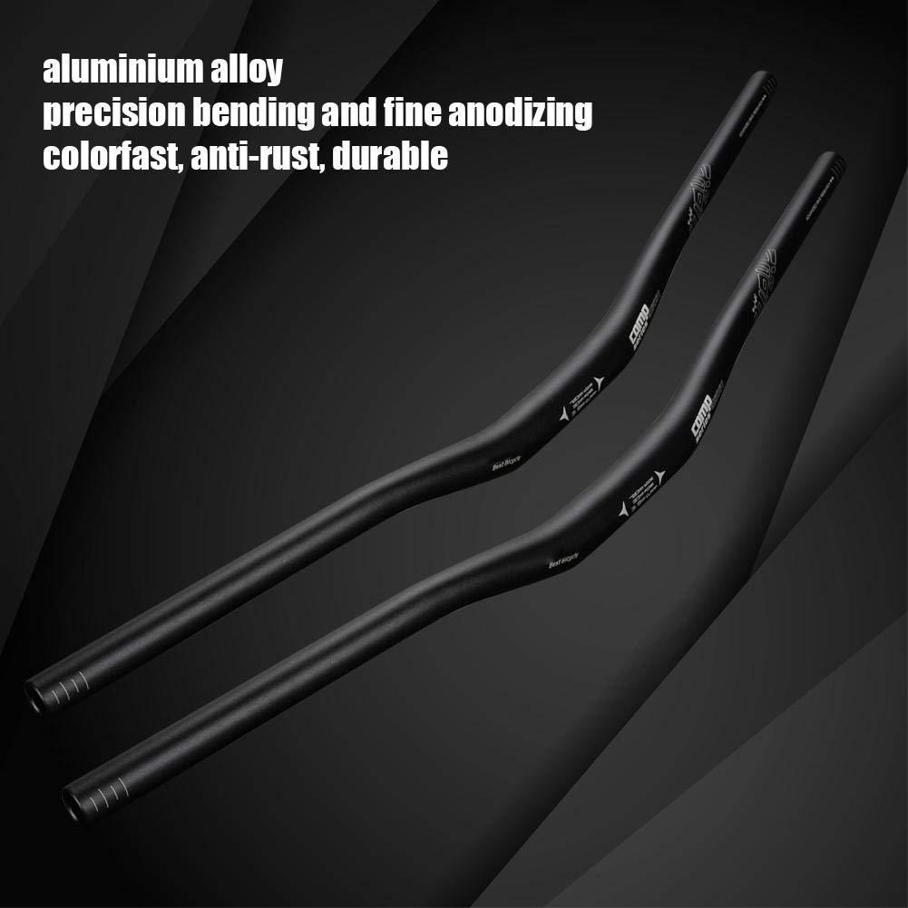 28.35in Aluminum Alloy Riser Handlebar Lightweight Flat Bar Mountain Bike Handlebar 720mm