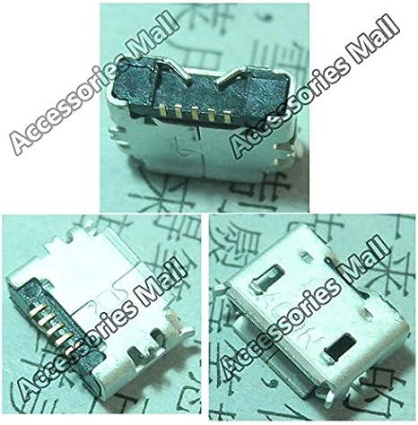 Cables 5-100 PCS V8 SMT 5-PIN Micro USB Jack Socket Connector Occus Cable Length: 100 pcs
