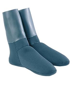 Omer 3 mm Doble Forrado Calcetines de Neopreno con Sellos para Buceo y Pesca Spear, Azul/Gris: Amazon.es: Deportes y aire libre