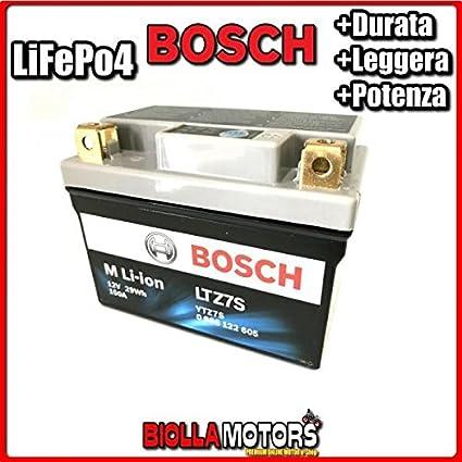LTZ7S Batería Litio BOSCH ytz7s-bs LiFePO4 0986122605 ytz7sbs Moto ...