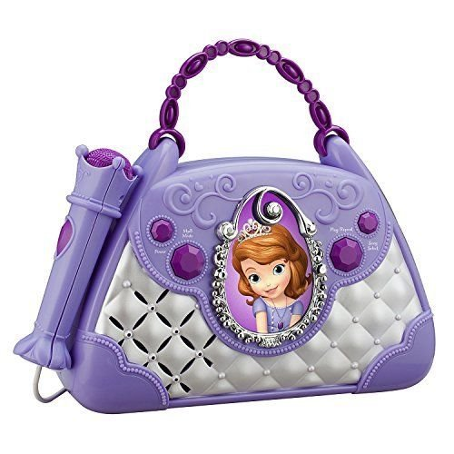 KIDdesigns Sofia The First Time to Shine Sing-Along Boombox ,#G14E6GE4R-GE - Boombox Along