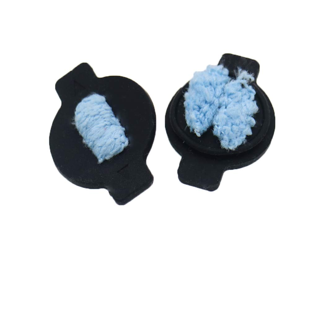 anhnga store 2Pcs Water Wick Cap kit for iRobot Braava 380 380t 320 Mint 4200 4205 5200 5200C Robot Replacement Vacuum Cleaner Parts