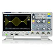 SIGLENT SDS1204X-E Super Phosphor Oscilloscope 4-channel 200 MHz 1 GSa/s 14 MB