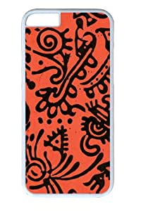 Aztec Myth1 Custom iphone 6 plus 5.5 inch Case Cover Polycarbonate White
