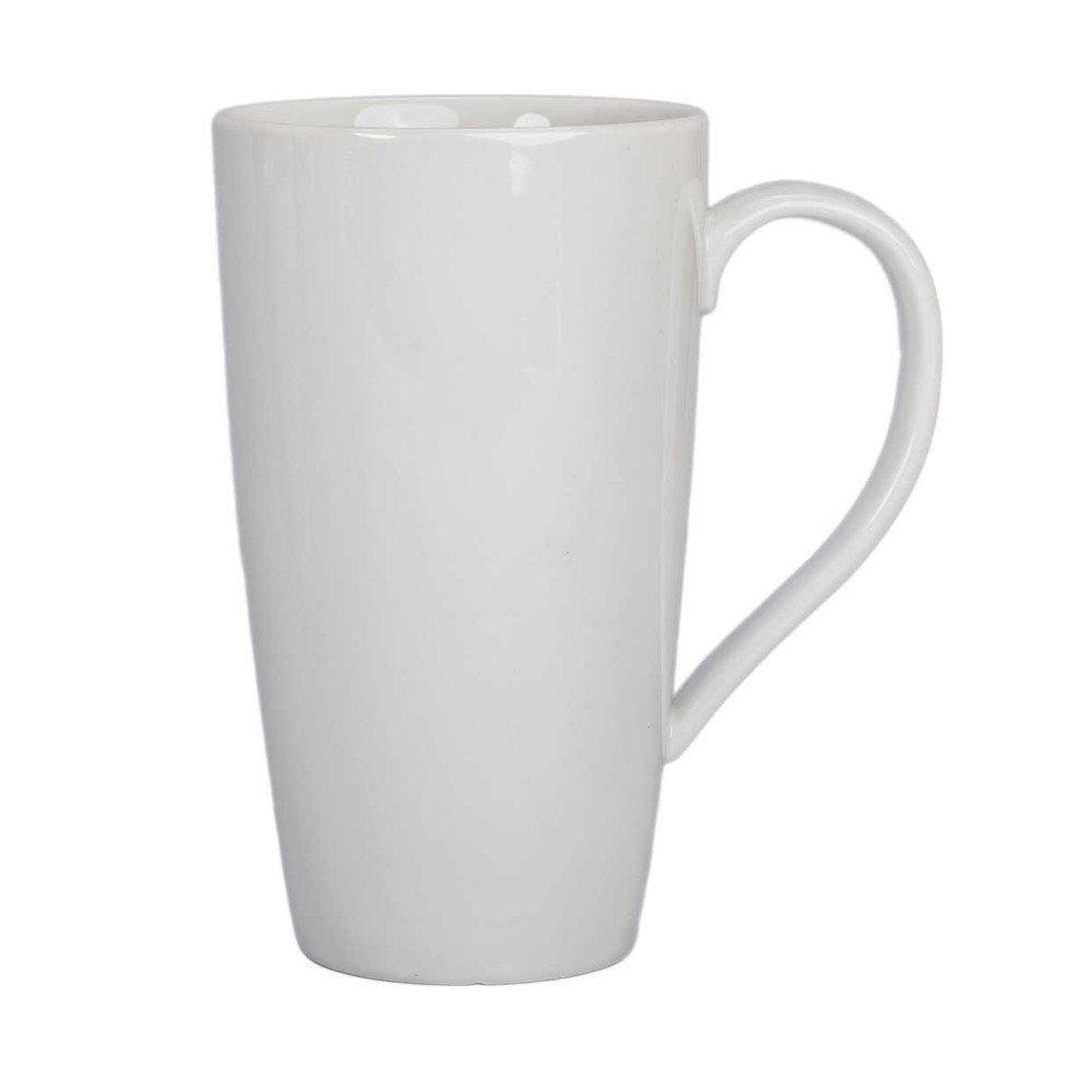 BIA Cordon Bleu White Porcelain 17 ounce Latte Mug white 903046