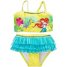 Disney Ariel Swimsuit for Girls - 2-Piece Green