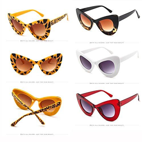 コンテスト思春期シンカンサングラス ファッション 保護メガネ 5141 エレガント メガネケース付き