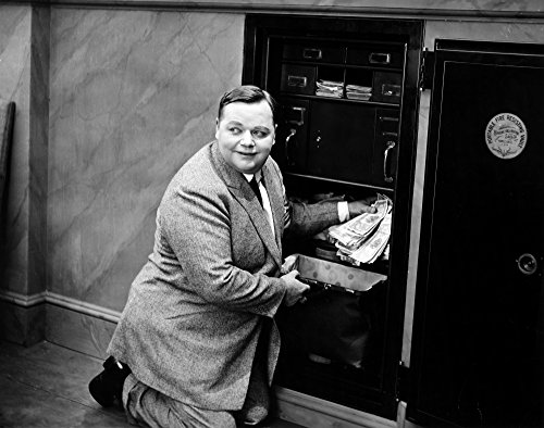 Posterazzi Poster Print Collection Roscoe 'Fatty' Arbuckle/N(1887-1933). American Cinema Actor in 'Brewster'S Millions ' 1914, (24 x 36), Multicolored