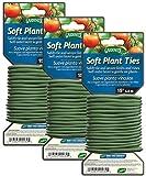 Gardeneer Soft Plant Ties, 15', Pack of 3