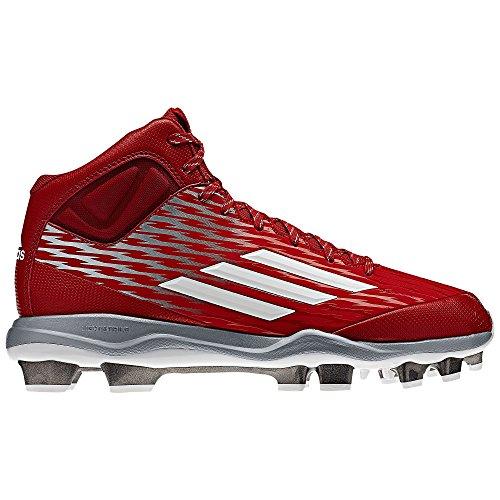 Scarpe Da Baseball Adidas Power Vicolo 3 Tpu Mid Rosso / Bianco (s84717)
