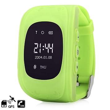 DAM Tekkiwear Q50 - Smartwatch para Niños con Función SOS, Verde: Amazon.es: Electrónica