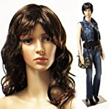 """Realistic Standing Female 33""""-24""""-34"""" Mannequin + Base & 2 Free Wigs (F-07+2)"""