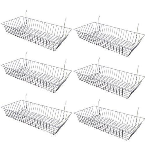 wall baskets white - 9